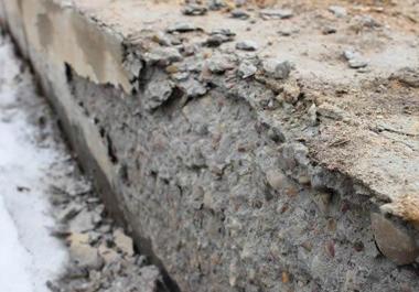 Разрушении бетона бетон харькова