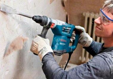 Бетон перфоратором раствор цементный мешок купить